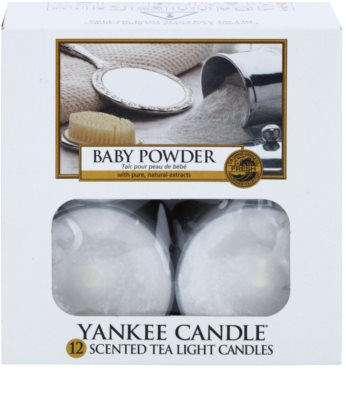 Yankee Candle Baby Powder vela do chá 2