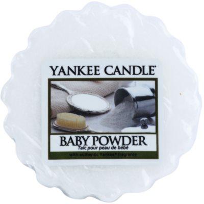 Yankee Candle Baby Powder illatos viasz aromalámpába
