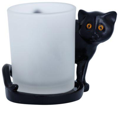 Yankee Candle Black Cats świecznik na sampler