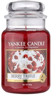Yankee Candle Berry Trifle Duftkerze   Classic groß