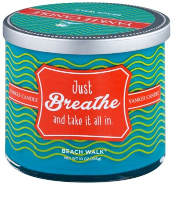 Yankee Candle Beach Walk vela perfumado   (Just Breathe and Take it All in)