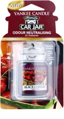 Yankee Candle Black Cherry ambientador para coche   de suspensión
