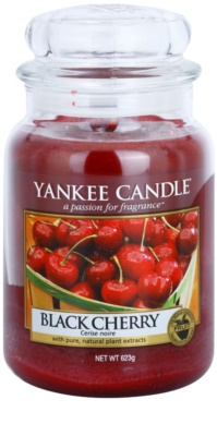 Yankee Candle Black Cherry illatos gyertya   Classic nagy méret