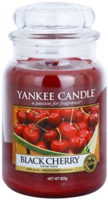 Yankee Candle Black Cherry vonná svíčka  Classic velká