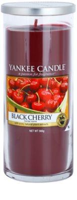 Yankee Candle Black Cherry illatos gyertya   Décor nagy