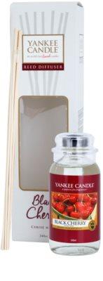 Yankee Candle Black Cherry Aroma Diffuser mit Nachfüllung  Classic
