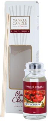 Yankee Candle Black Cherry difusor de aromas con el relleno  Classic