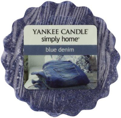 Yankee Candle Blue Denim cera derretida aromatizante