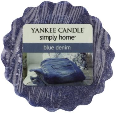 Yankee Candle Blue Denim Wachs für Aromalampen