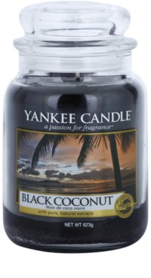 Yankee Candle Black Coconut vela perfumada   Classic grande