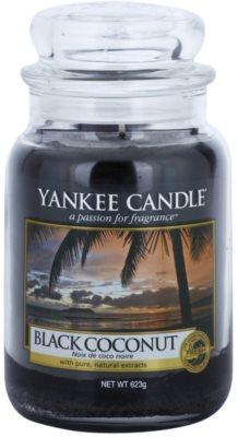 Yankee Candle Black Coconut vonná svíčka  Classic velká
