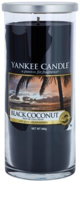 Yankee Candle Black Coconut Duftkerze   Décor groß