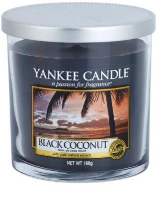 Yankee Candle Black Coconut vela perfumado  Décor pequena