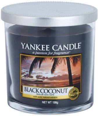 Yankee Candle Black Coconut ароматизована свічка   Декорація маленька