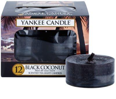 Yankee Candle Black Coconut čajová svíčka