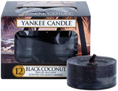 Yankee Candle Black Coconut vela de té