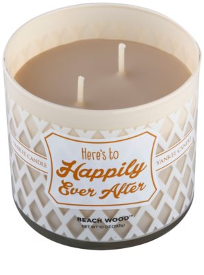 Yankee Candle Beach Wood ароматизована свічка    (Here´s to Happily Ever After) 1
