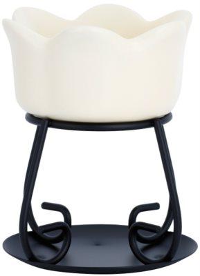 Yankee Candle Petal Bowl Lâmpadas aromáticas de cerâmica    (Cream)