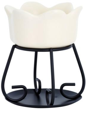 Yankee Candle Petal Bowl Lâmpadas aromáticas de cerâmica    (Cream) 1