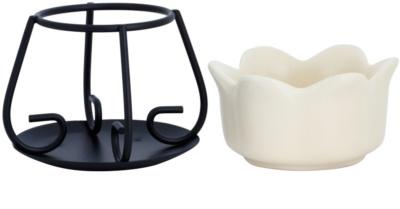 Yankee Candle Petal Bowl Lâmpadas aromáticas de cerâmica    (Cream) 2