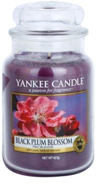 Yankee Candle Black Plum Blossom ароматна свещ   Classic голяма