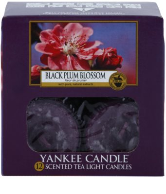 Yankee Candle Black Plum Blossom świeczka typu tealight 2