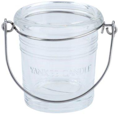 Yankee Candle Glass Bucket Скляний підсвічник для вотивної свічки    (Violet)