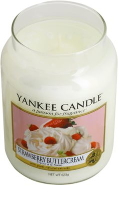 Yankee Candle Strawberry Buttercream Duftkerze   Classic groß 1