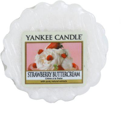 Yankee Candle Strawberry Buttercream illatos viasz aromalámpába
