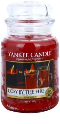 Yankee Candle Cosy By the Fire Duftkerze   Classic groß