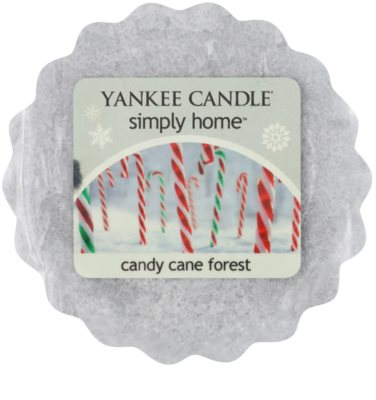Yankee Candle Candy Cane Forest cera para lámparas aromáticas
