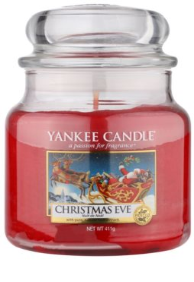 Yankee Candle Christmas Eve vela perfumado  Classic médio