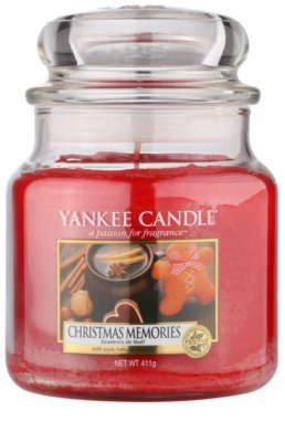 Yankee Candle Christmas Memories Duftkerze   Classic medium