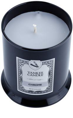 Yankee Candle Chrome Duftkerze 1