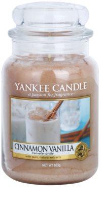 Yankee Candle Cinnamon Vanilla vela perfumada   Classic grande