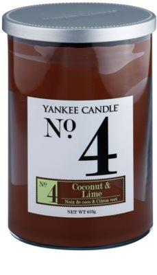 Yankee Candle Coconut & Lime Duftkerze   Décor groß (No.4)