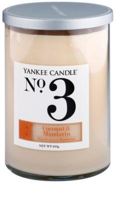 Yankee Candle Coconut & Mandarin Duftkerze   Décor groß (No.3)