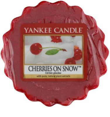 Yankee Candle Cherries on Snow ceară pentru aromatizator