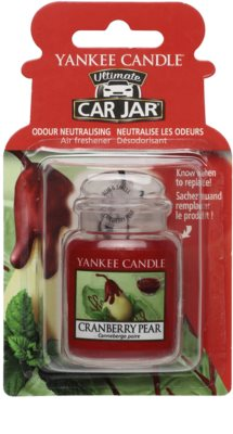 Yankee Candle Cranberry Pear Car Air Freshener   hanging