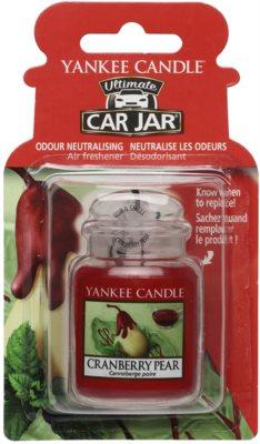 Yankee Candle Cranberry Pear dišava za avto   za obešanje
