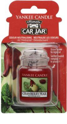 Yankee Candle Cranberry Pear illat autóba   felakasztható autóillatosító