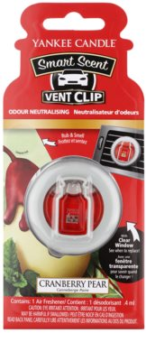 Yankee Candle Cranberry Pear Autoduft  Clip