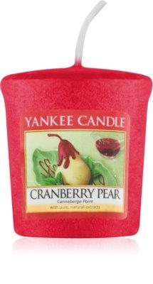 Yankee Candle Cranberry Pear vela votiva