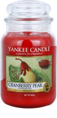 Yankee Candle Cranberry Pear dišeča sveča   Classic velika