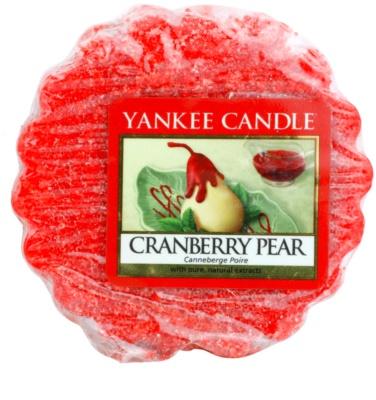 Yankee Candle Cranberry Pear cera para lámparas aromáticas