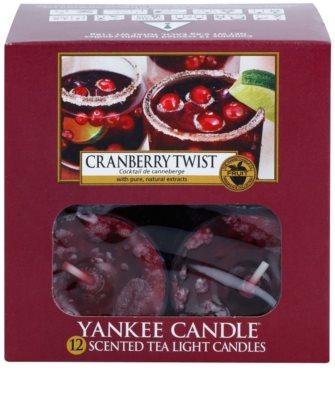 Yankee Candle Cranberry Twist čajová sviečka 2