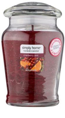 Yankee Candle Cranberry Zest ароматизована свічка   середня