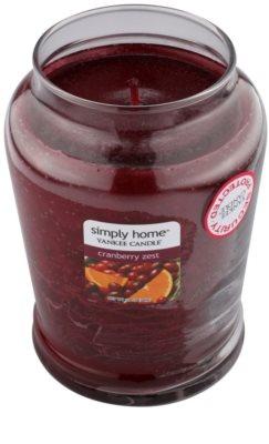 Yankee Candle Cranberry Zest vela perfumada   mediano 1