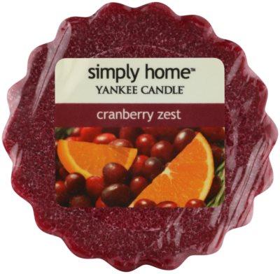 Yankee Candle Cranberry Zest ceară pentru aromatizator