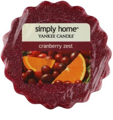 Yankee Candle Cranberry Zest віск для аромалампи